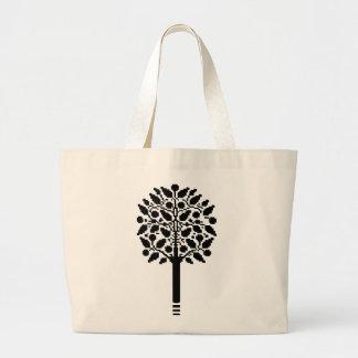 Vintage Tree Jumbo Tote Bag