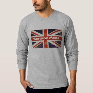 Vintage Union Jack BRITPOP MORE Long SleeveT-Shirt T Shirt