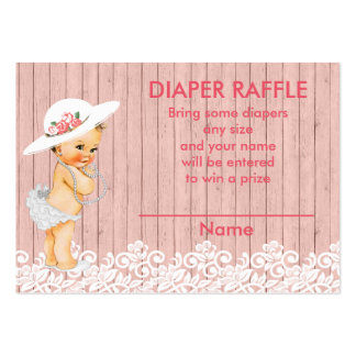 Vintage Victorian Baby Shower Raffle Insert Pack Of Chubby Business Cards