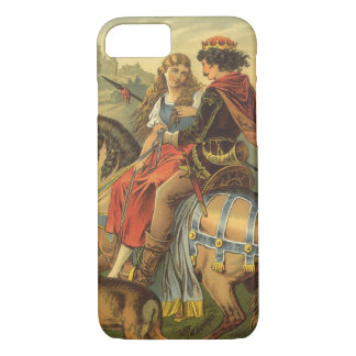 Vintage Victorian Fairy Tale, Brother and Sister iPhone 7 Case