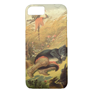 Vintage Victorian Fairy Tale, Puss in Boots iPhone 7 Case