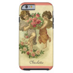 Vintage Victorian Valentine's Day, Angels Roses Tough iPhone 6 Case