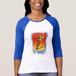 Vintage Winter Sports - Ski jump Tee Shirt