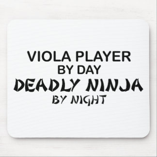 Viola Deadly Ninja by Night Mouse Pad