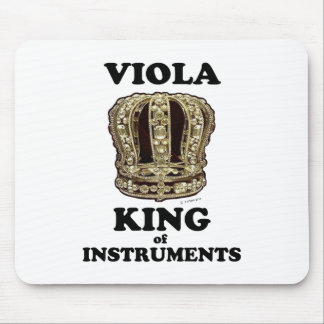 Viola King of Instruments Mouse Pad
