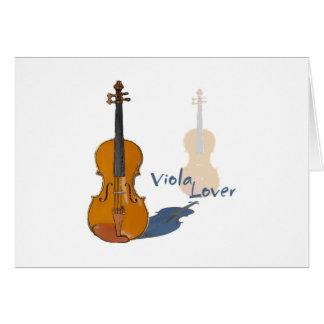 Viola Lover Greeting Card