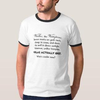Violas Actually Exist Tee Shirts