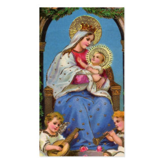 Virgin Mary and Baby Jesus Pack Of Standard Business Cards