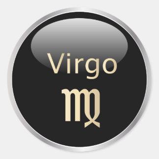 Virgo zodiac astrology,  star sign stickers