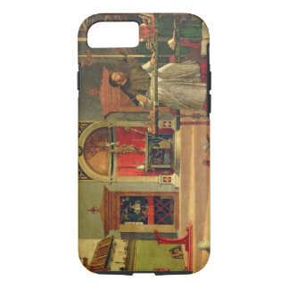 Vision of St. Augustine, 1502-08 (oil on canvas) ( iPhone 7 Case