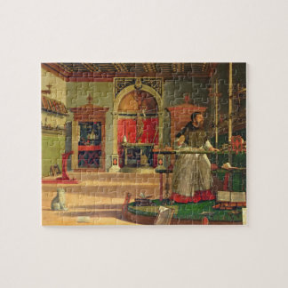 Vision of St. Augustine, 1502-08 (oil on canvas) ( Jigsaw Puzzle