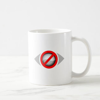 Vision Restricted graphic Basic White Mug