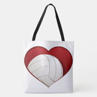 Volleyball Love Tote Bag