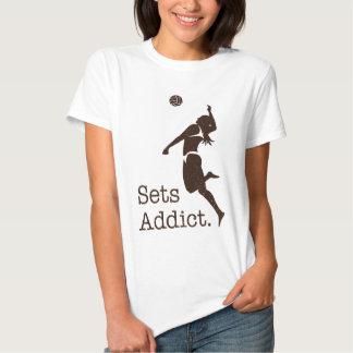 Volleyball Sets Addict Shirt