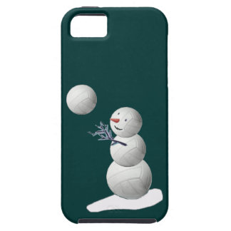 Volleyballl Snowman iPhone 5 Covers