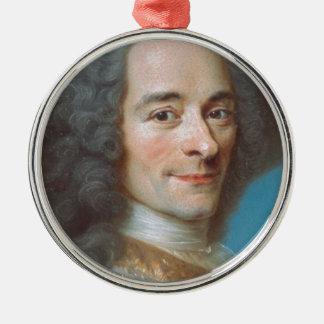 Voltaire Silver-Colored Round Decoration