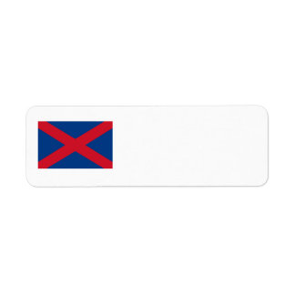 Voortrekker Flag Return Address Label