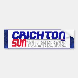 Vote Crichton Sun Bumper Sticker