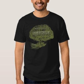 Vriksasana ~Yoga Tree Pose Tshirts