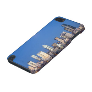 WA, Seattle, Seattle skyline and Elliott Bay 3 iPod Touch (5th Generation) Cases