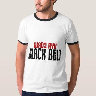 Wado Ryu Black Belt Karate T-shirts