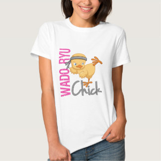 Wado Ryu Chick T Shirts