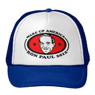 Wake Up America Ron Paul 2012 Cap
