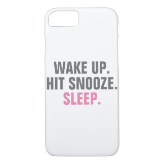 Wake Up and Sleep iPhone 7 Case