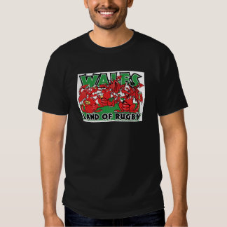 Wales Land of Rugby, Welsh Dragons Shirt