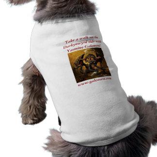 Walk on the Darkynwyrd Side Sleeveless Dog Shirt