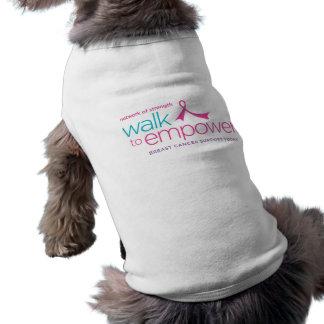 Walk to Empower Pet T-Shirt