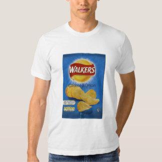 Walkers Cheese & Onion Crisps Tshirts