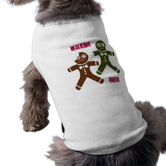 Walking Bread Sleeveless Dog Shirt