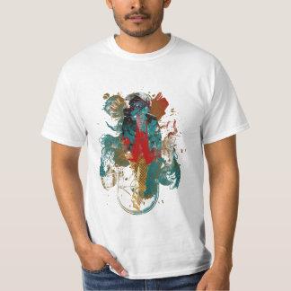 Walking Man In The Colour Shirt