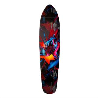 Walking on Broken Glass 18.1 Cm Old School Skateboard Deck