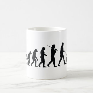 Walking The Dog Basic White Mug