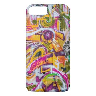 wall graffiti art iPhone 7 plus case