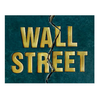WALL ST POSTCARD
