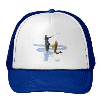 Walleye Fishing Outdoor Fisherman's Sporting Gift Cap