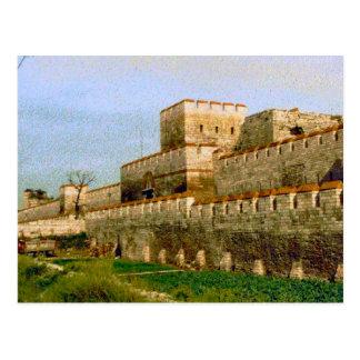 Walls of Istanbul Postcard