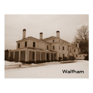 Waltham Postcard
