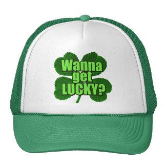 Wanna Get Lucky? Cap