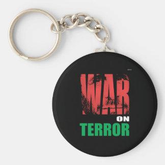 War On Terror Basic Round Button Key Ring