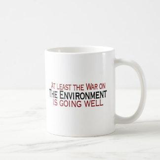 War On The Environment Basic White Mug