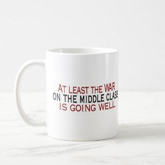 War On The Middle Class Basic White Mug