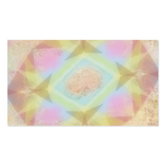 Warped Kaleidoscope - Light Colored Abstract Pack Of Standard Business Cards