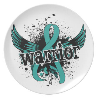 Warrior 16 Peritoneal Cancer Dinner Plate