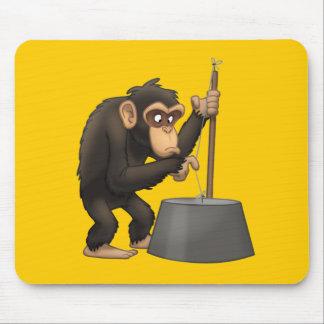 Washtub-Bass-Playin' Chimp Mousepad