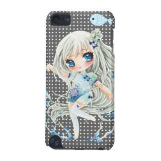 Water girl and kawaii fish iPod touch (5th generation) covers