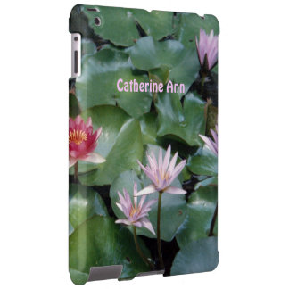 Water Lilies 2 Custom iPad Case